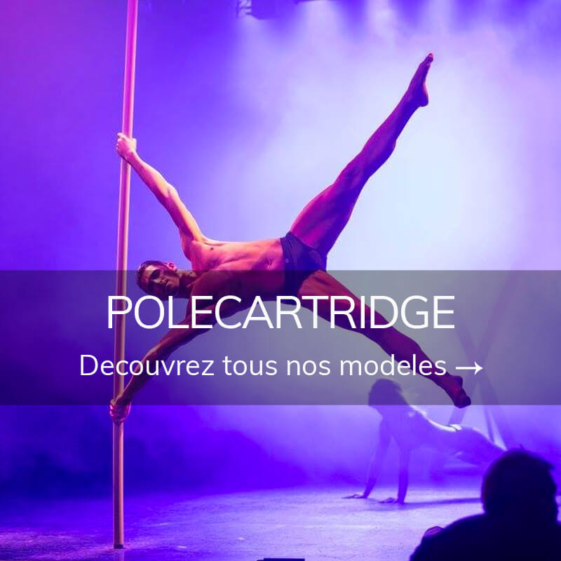 Barre pole dance polecartridge