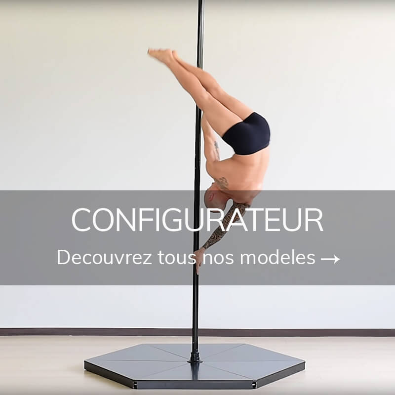Podium pole dance configurabile