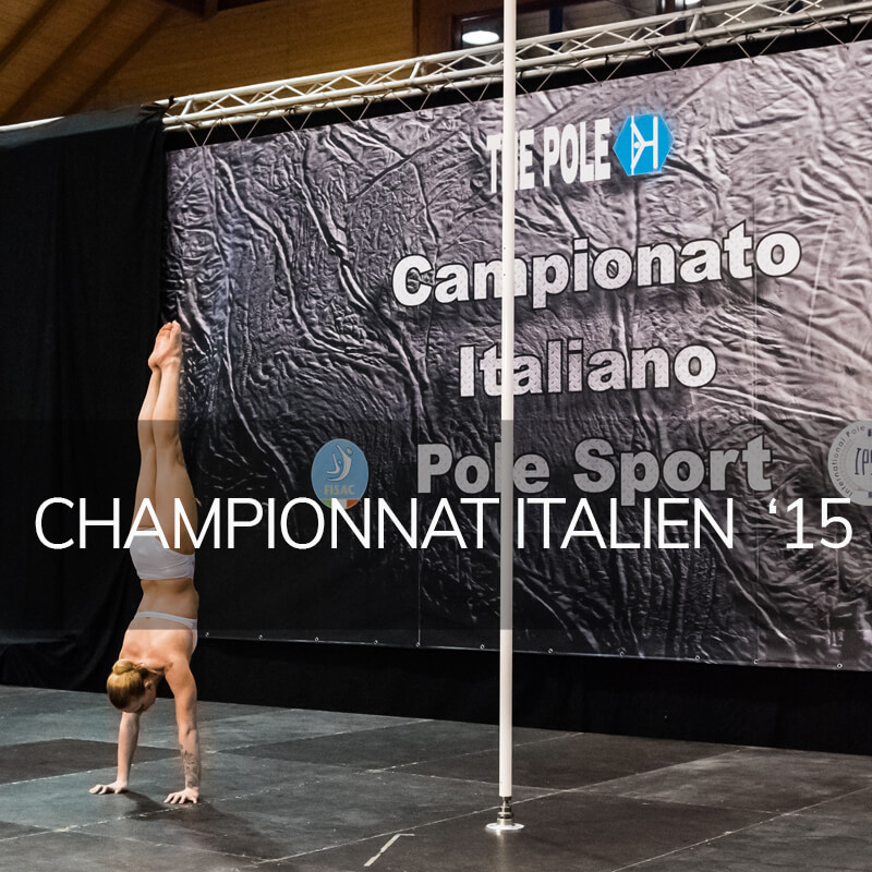 Photo pole dance championnat italien 2015